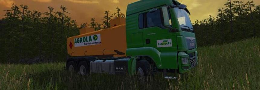 Trucks with ladi skin of Switzerland v0.1