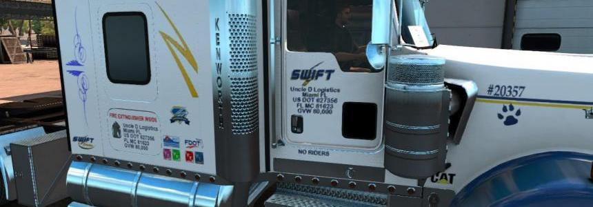 Swift Transportation Kenworth W900 Skin [Updated]