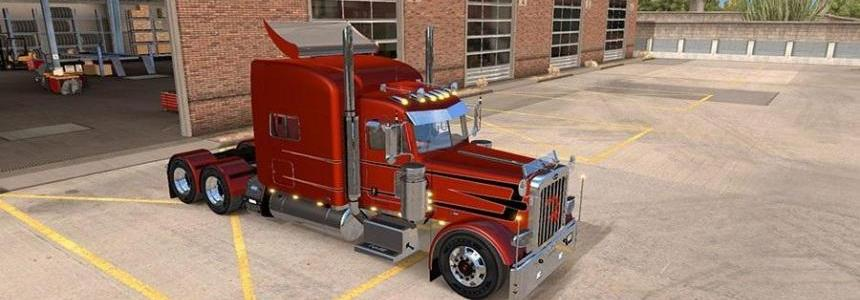 Viper 2 Peterbilt 389 v2.0 Chrome Pack v1.5