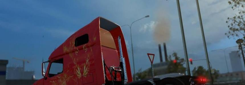 Volvo 670 fire skin