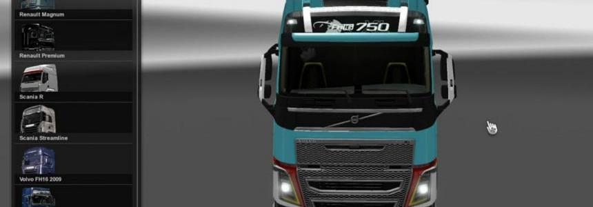 Volvo FH 2012 Maersk HD Skin 1.23