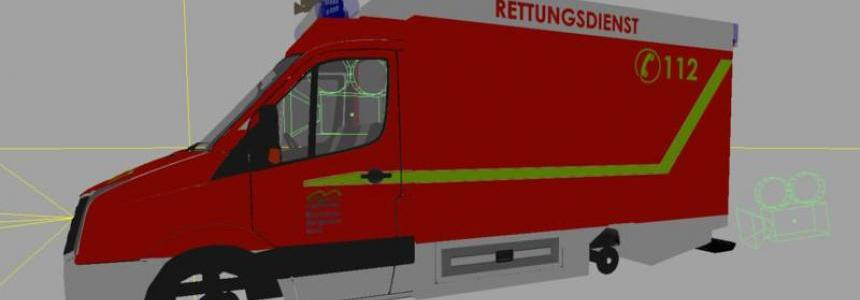 VW Crafter RTW texture v1.1
