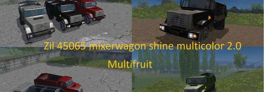 Zil 45065 mixerwagon shine multicolor - Multifruit v2.0