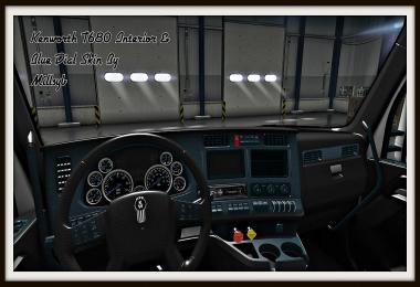Kenworth T680 Interior & Blue Dial Skin