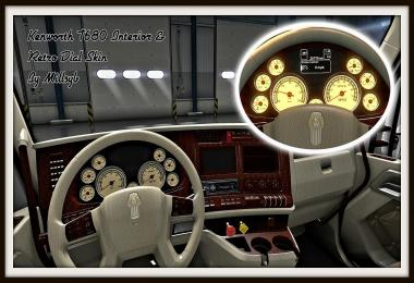 Kenworth T680 Interior & Retro Dial Skin