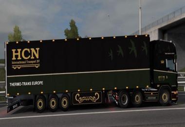 Scania R500 HCN with Schmitz Trailer