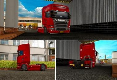 Tuned Scania stream line 1.23