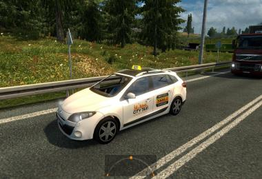 Two taxis in traffic 1.24.0 beta