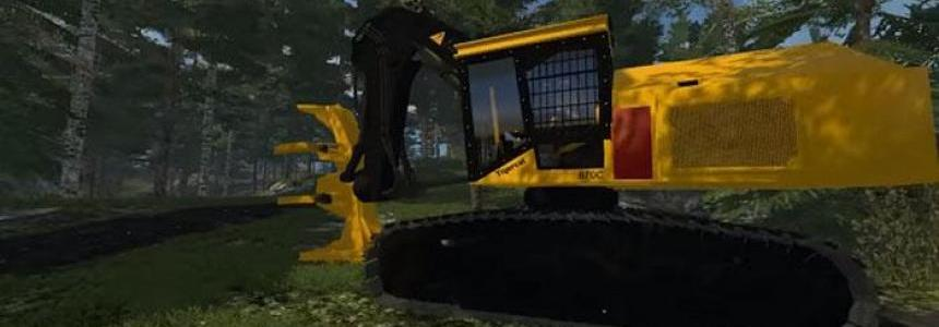 FDR LOGGING – TIGERCAT 870C FELLER BUNCHER v1.0