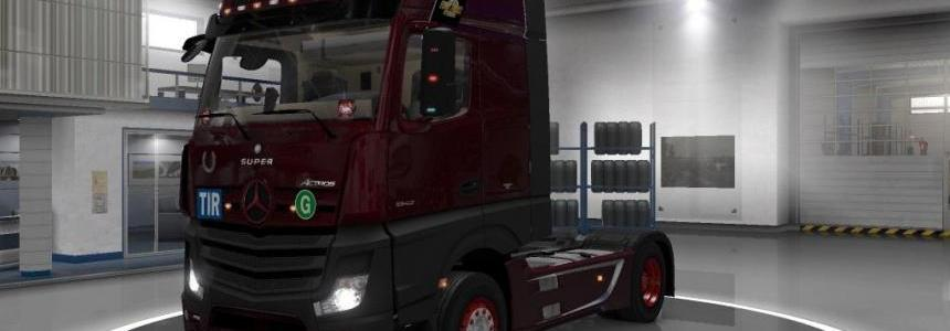 MERCEDES ACTROS MP4 V1.13
