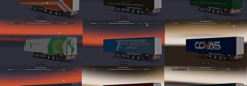 Pack trailer skins Portugal 1.24