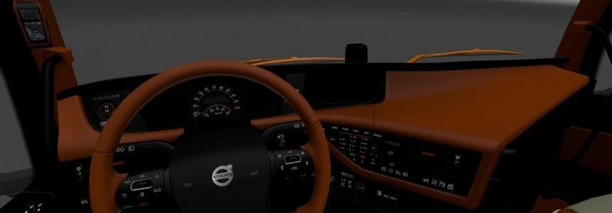 Volvo 2012 Black/Brown Interior v1