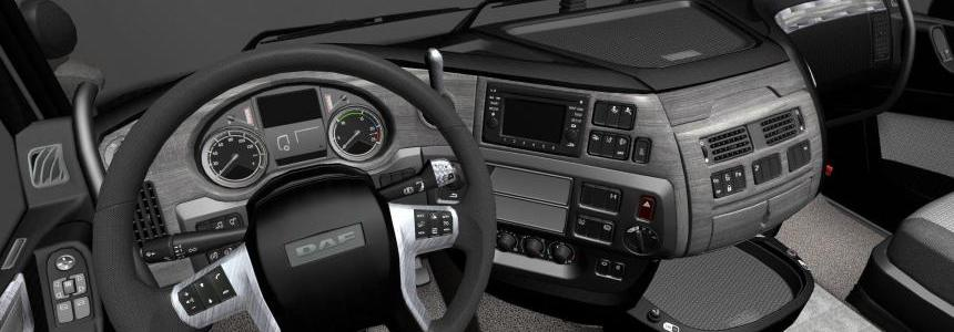 DAF E6 Grey Black Interior v1