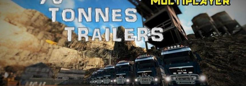 70 Tonnes Trailer