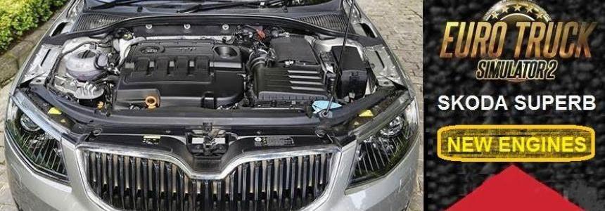 Skoda Superb New Engines 1.24