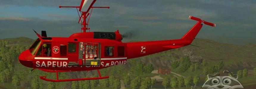 Bell UH1D SAPEURS POMPIERS TFSGROUP