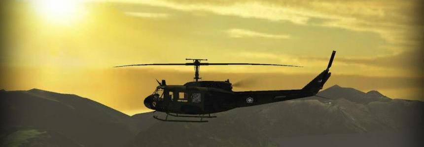 Bell UH1D US ARMY TFSGROUP