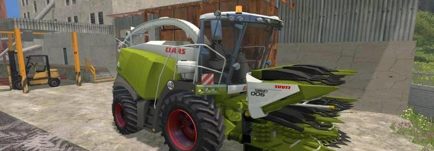 Claas Jaguar 980 Dynamic Power v1.0
