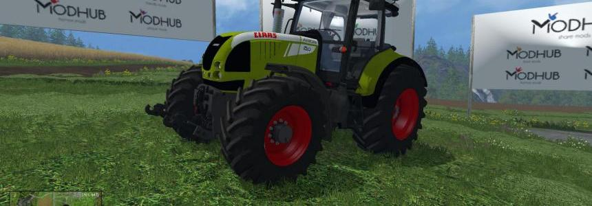 Claas Tractor edit v1
