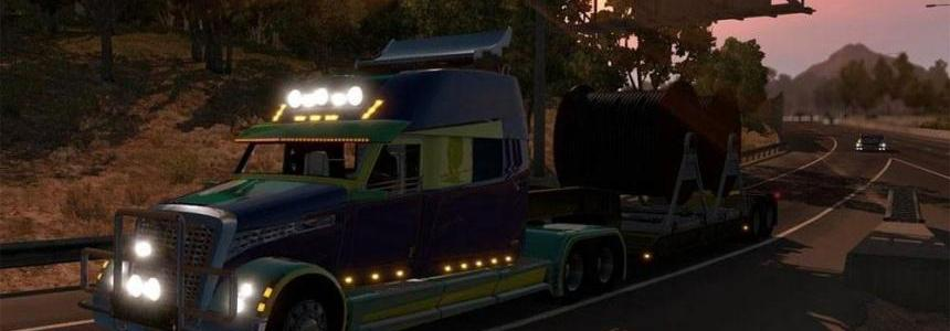 Concept truck Flight of fantasy v1 in ETS2 [REL]