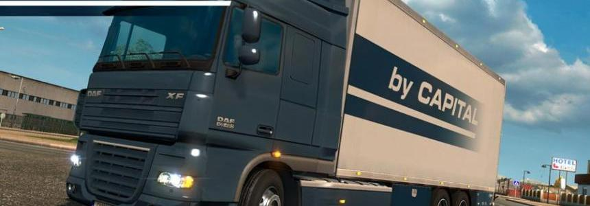 Daf XF 50k Tandem – By Capital v1.5