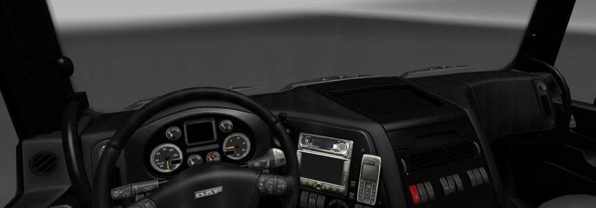 DAF XF Dark Interior v1