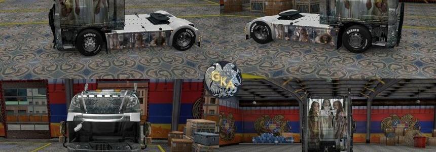 DAF XF Euro 6 Aleera Van Helsing Skin