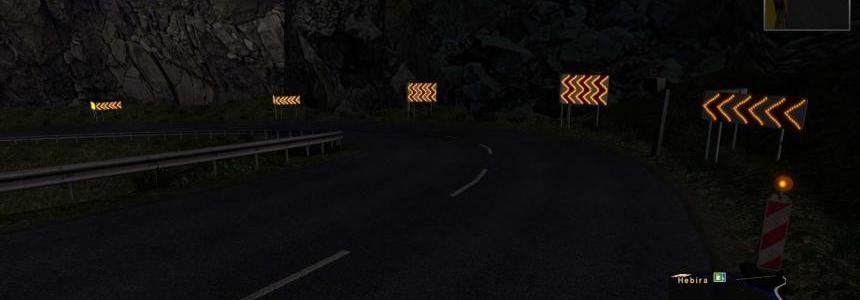 Dangerous turn lights for v1.24.x