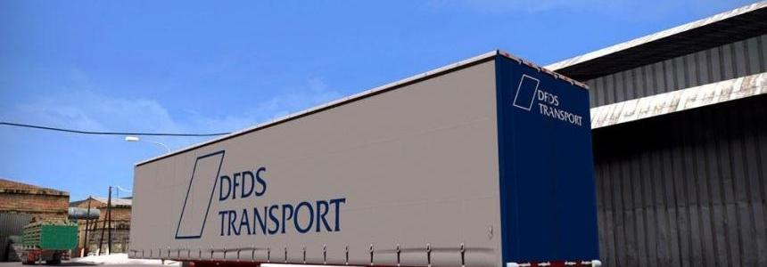 DFDS Transport Trailer