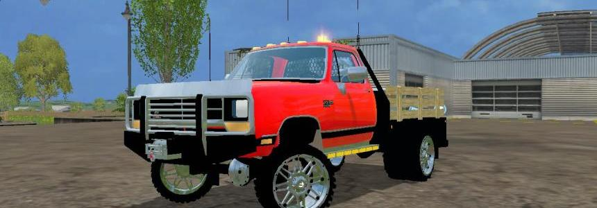 Dodge W350 Dually Flatbed v2.0