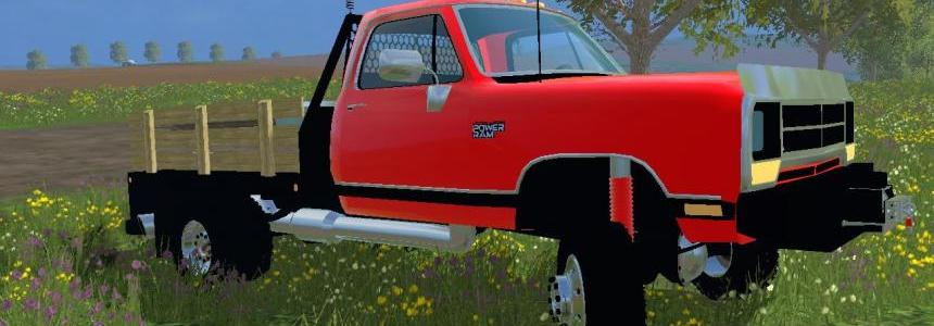Dodge D250 Flatbed Dually V1.0