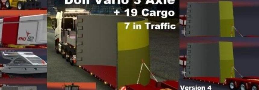 ETS2 1.24.x.x Doll Vario 3 Axle Trailer v4.0