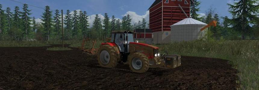 Finnish map Small farm - Lighter v1.1