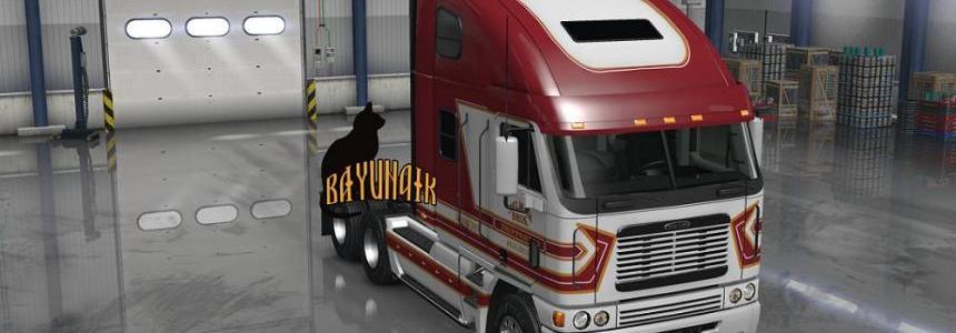 Freightliner Argosy Selman Brothers skin v1.2