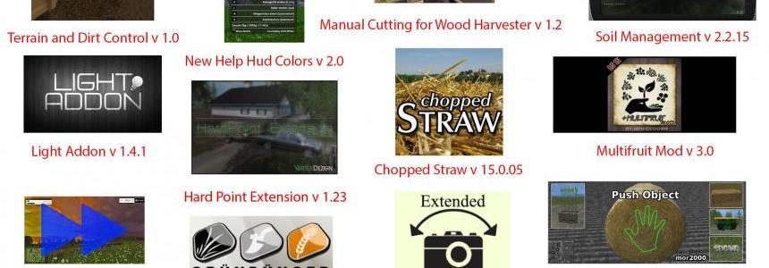 FS15 Big Mods Pack V11 Scripts Pack V2
