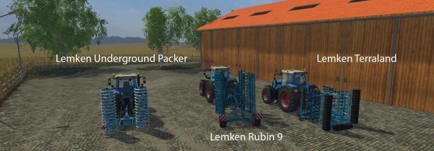 FS15 Big Mods Pack V4 Lemken Pack V1