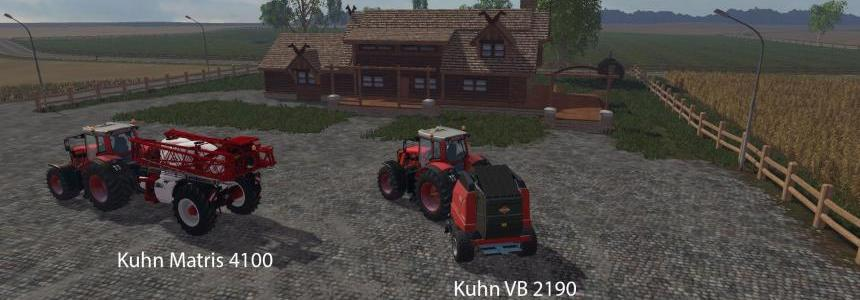 FS15 Big Mods Pack V5 Kuhn Pack V1