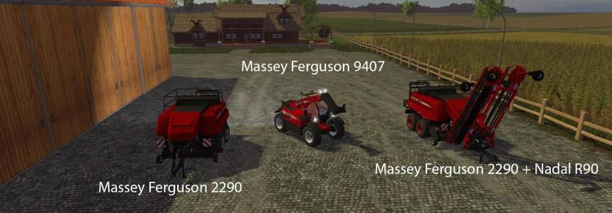 Big Mods Pack V8 Massey Ferguson Pack V1