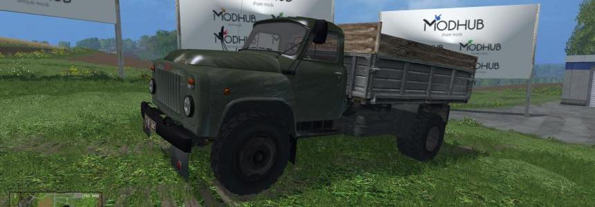 GAZ-53 Green Truck v1.0
