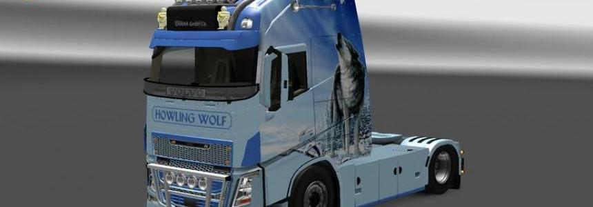 Howling Wolf Skin for Volvo v1.0