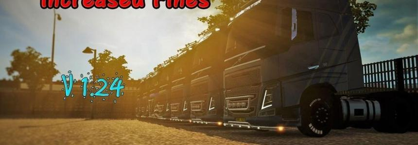 Increased Fines Mod By AndreiP23 v1.0