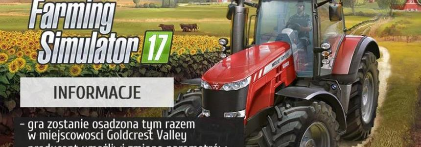 Informations about the newest FS17