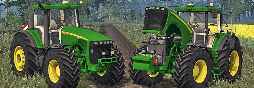 John Deere 8520 + Weight v1.0