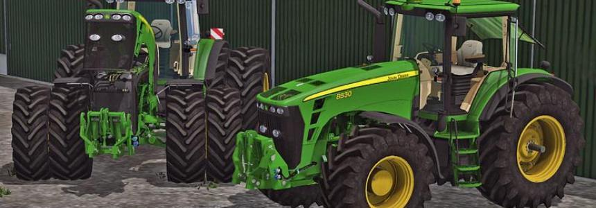 John Deere 8530 (with FH) v1.0