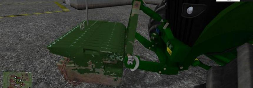 John Deere Weight v1.0 Beta