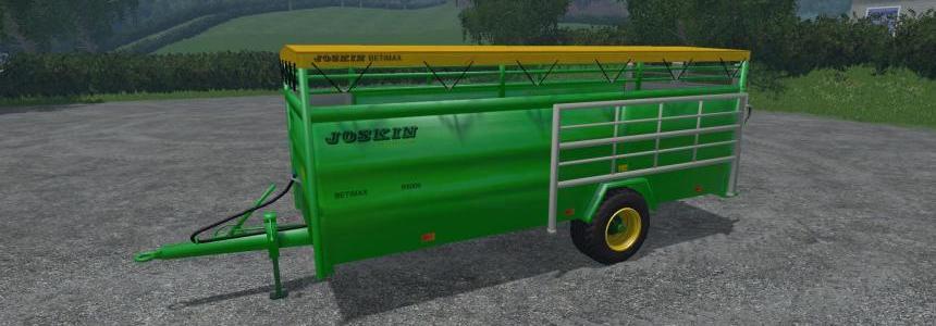 Joskin Betimax R 6000 Livestock Trailer v1