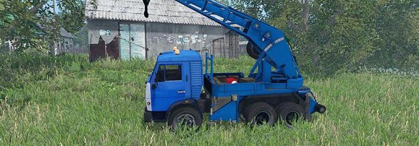 Kamaz Crane Truck v1.0