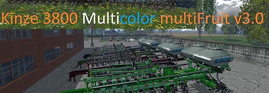 Kinze 3800 Multicolor multiFruit v3.0