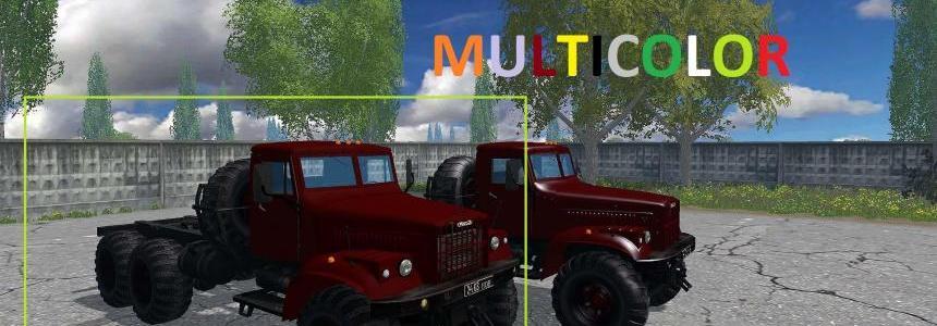 KRAZ 255 b1 MULTICOLOR 1.2.1 MATTE