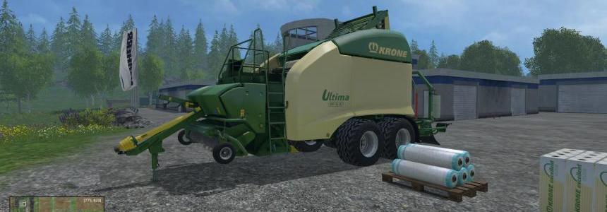 Krone Ultima CF 155 XC Black Wrap v1.0